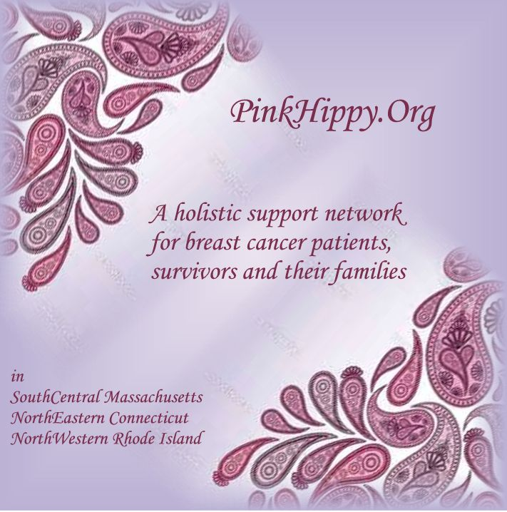 PinkHippy.org a holistic support network for breast cancer patients, survivors and their families